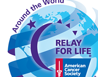 Vancouver Relay For Life 2014 theme logo design