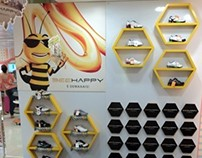 Store Display Bee Happy