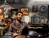 realizzazione grafica home page www.danielesilvestri.it