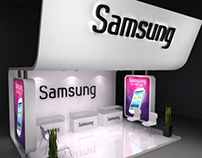 Exhibition booth samsung