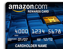 VISA / Amazon - Reward Card Designs