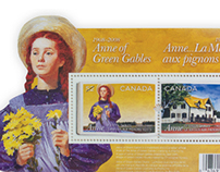 Canada Post Anne of Green Gables 100 Years Stamp