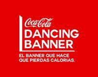 Coca Cola Dancing Banner