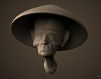 Speed Sculpt #1 - The Monk