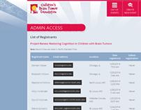 Children's Brain Tumor Foundation event registration