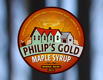 Philip's Gold - Label