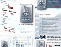 IT/B Expo trade show print materials