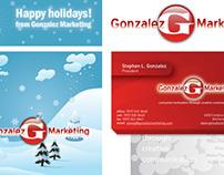 Design firm marketing materials
