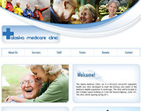 Collection of web designs from previous firm employment