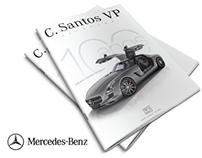 MERCEDES BENZ - C SANTOS MAGAZINE (100 Anos)