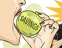 Biting the Savings