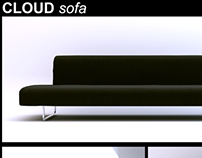 3D Model: cloud sofa by B&B