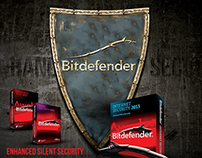 Poster design for FarEast company - Bitdefender - Iraq