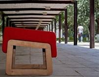 Easy chair & Ottoman LUPITA
