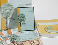 Home Builder Identity and Print Materials