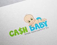 Cash Baby Logo Design