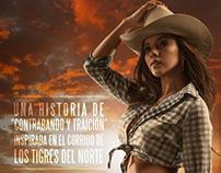 Camelia La Texana (Campaña gráfica)