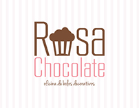 Rosa Chocolate | Oficina de Bolos Decorativos