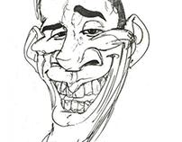 Han's Caricature of President Barack Obama
