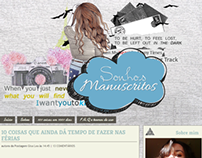LAYOUT | www.sonhosmanuscritos.com