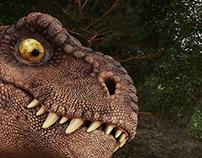 T-rex Scene