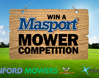 Stanford Mowers - Win a Lawnmower Competition - YouTube