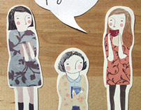 Lectoras AW Bookmarks + Stickers