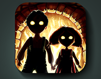IOS Icon of Hansel and Gretel