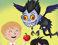 Death Note Little Golden Book