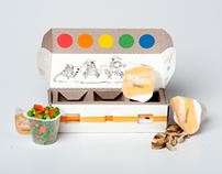 Color Me Healthy - Repackaging School Food