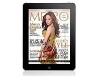 Metro Magazine Philippines iPad App - December 2010