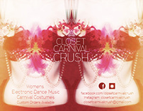 Closet Carnival Crush: Print + Web Advert