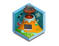 7 fields icons, Kizipad