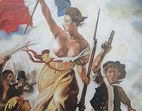 La Libertad guiando al pueblo - Delacroix