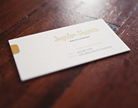 JSP Letterpress Business Cards