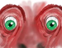 l'oeil de chien