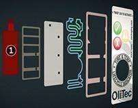 Olitec Product label