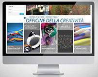 Layout Web - Officine della Creatività