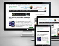 ProPakistani Responsive Website Design.