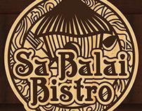 Sa Balai Bistro's Logo & Menu Design