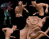 monster - model for game