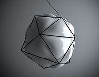 Semai_blown glass lamp