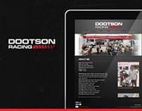 DootsonRacing // Website // Branding