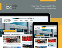 ICC Istanbul Congress Center Website Design Alternative