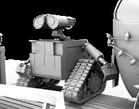 Wall-E Scene