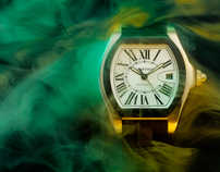 GLASS MAGAZINE WATCHES SERIE