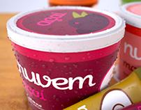 Nuvem - Ice Cream Container