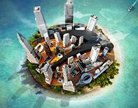 AL Khaliji cityscape campaign