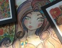 WIP - Flower Girl Ivy Liliana