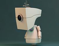 Cinema 4D Robot